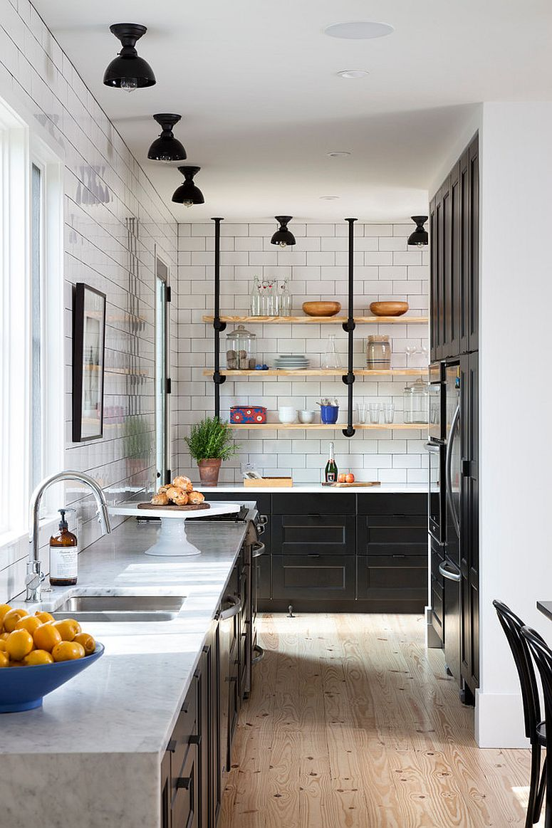1570614871 251 30 small kitchen lighting ideas that blend form with functionality - 30 Small Kitchen Lighting Ideas that Blend Form with functionality