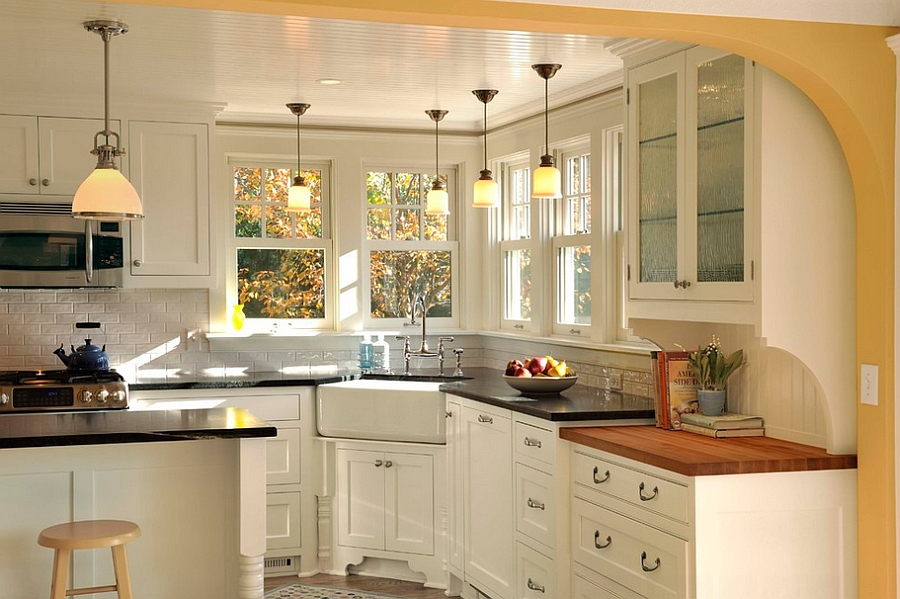 1570614871 31 30 small kitchen lighting ideas that blend form with functionality - 30 Small Kitchen Lighting Ideas that Blend Form with functionality