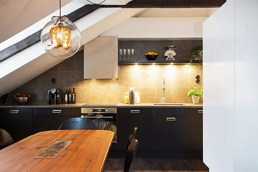 1570614872 220 30 small kitchen lighting ideas that blend form with functionality - 30 Small Kitchen Lighting Ideas that Blend Form with functionality