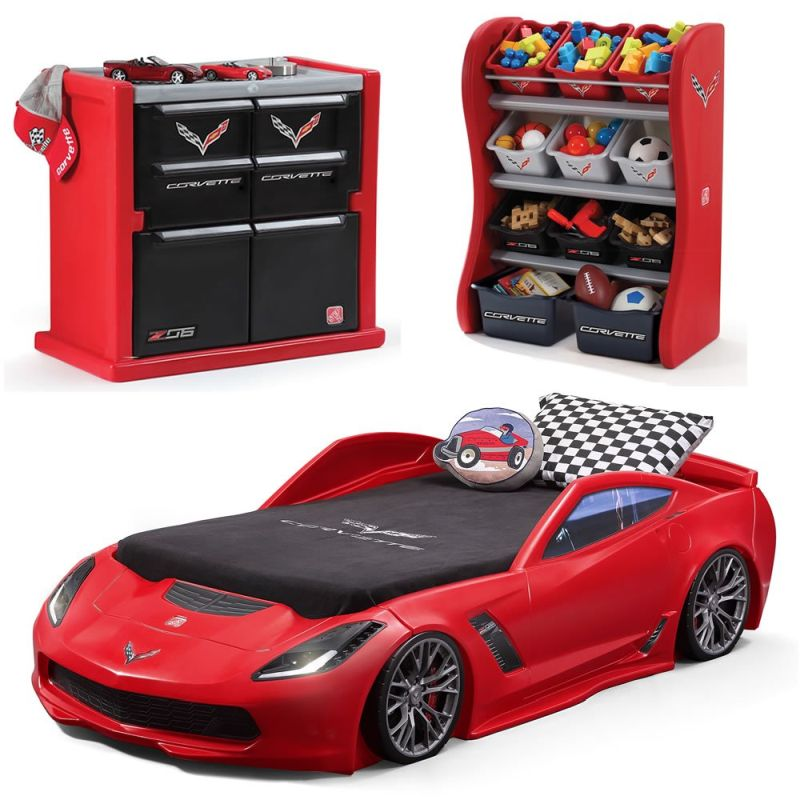 1570619012 150 25 racing car beds for children rooms - 25 Racing Car Beds For Children Rooms