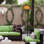 Sundate Electric Outdoor Halogen Patio Heater