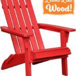 PolyTEAK Classic Folding Poly Adirondack Chair