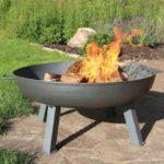 Sunnydaze Cast Iron Outdoor Fire Pit Bowl