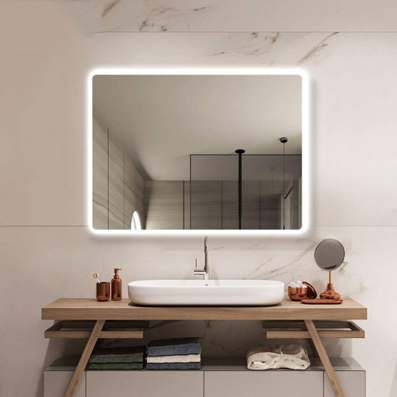 The Best Bathroom Mirrors With Built-in LED Lights - Decorpion