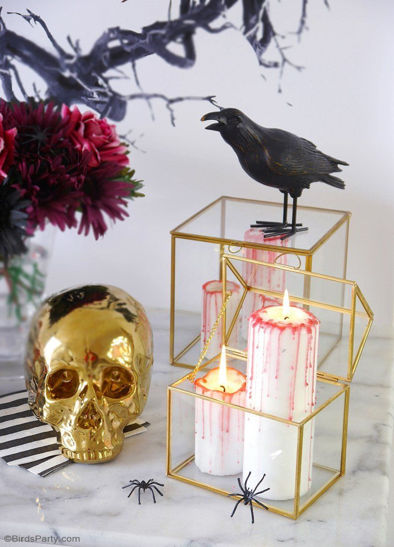 1571127052 521 diy halloween candle projects with spooky designs - DIY Halloween Candle Projects With Spooky Designs