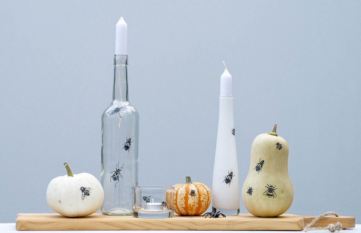 1571127052 766 diy halloween candle projects with spooky designs - DIY Halloween Candle Projects With Spooky Designs