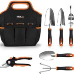 TACKLIFE Garden Tools Set-7 Piece Stainless Steel