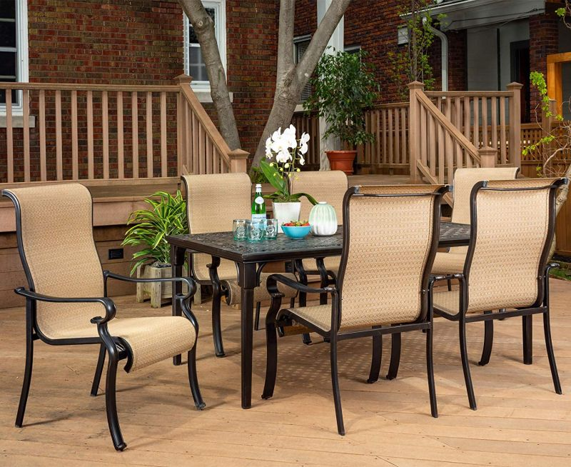 1571407638 806 top 10 best patio dining sets that blend looks and comfort - Top 10 Best Patio Dining Sets That Blend Looks and Comfort