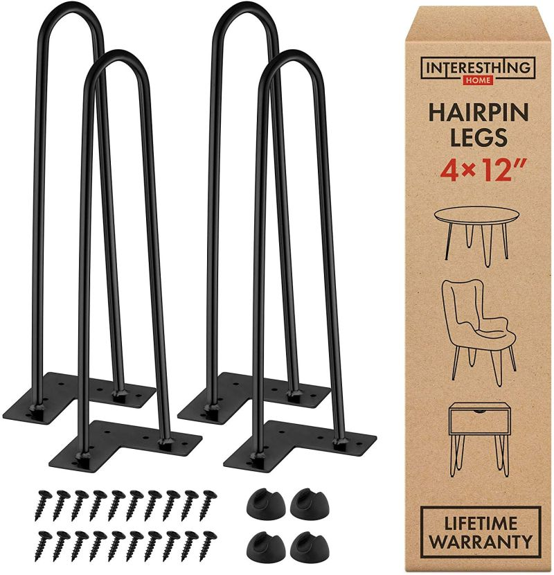 1571575214 442 top 10 best hairpin leg kits for custom furniture projects - Top 10 Best Hairpin Leg Kits For Custom Furniture Projects