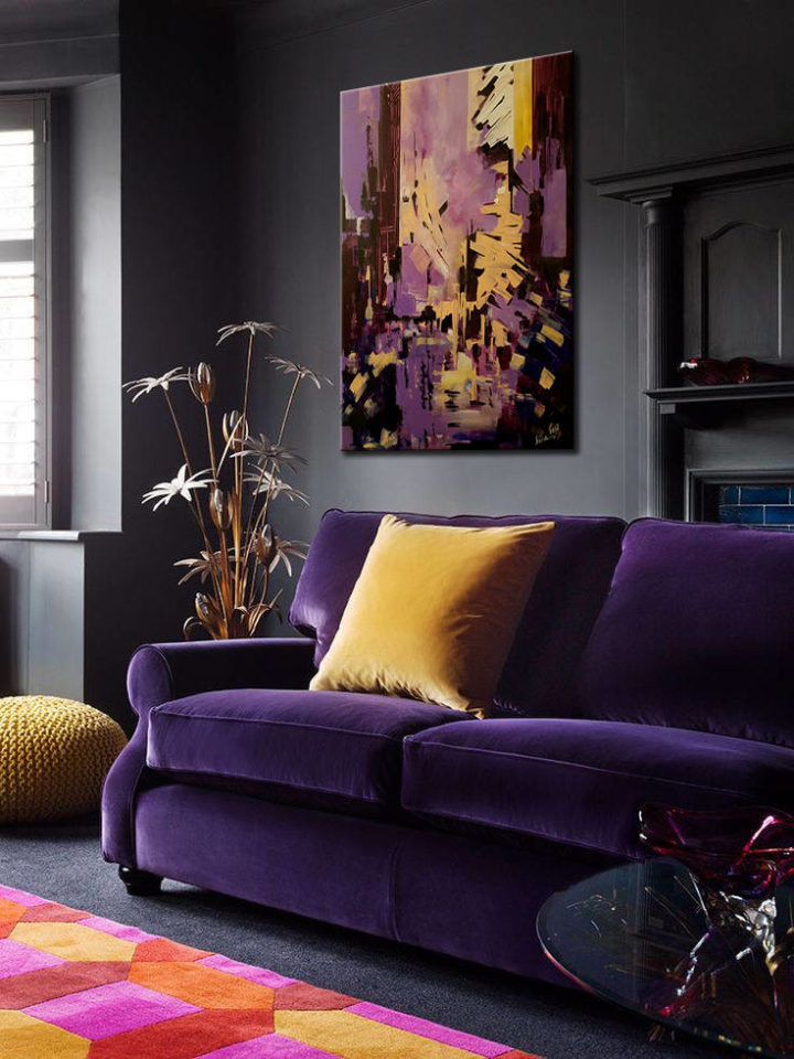 1572171212 56 decorating with color statement bold color sofa - Decorating With Color: Statement Bold Color Sofa