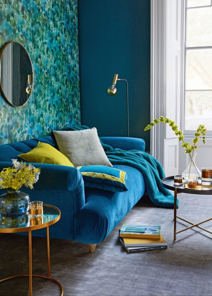 1572171214 216 decorating with color statement bold color sofa - Decorating With Color: Statement Bold Color Sofa