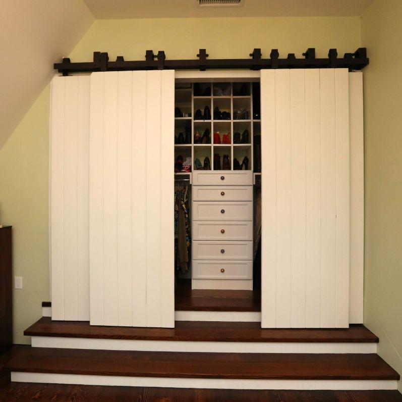 1572273224 760 where and how to use sliding barn doors 12 creative ideas - Where And How To Use Sliding Barn Doors – 12 Creative Ideas