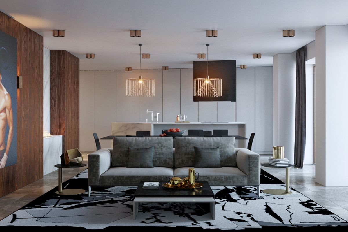 1572340908 562 posh apartment in minsk gets a complete remodel - Posh Apartment in Minsk Gets A Complete Remodel