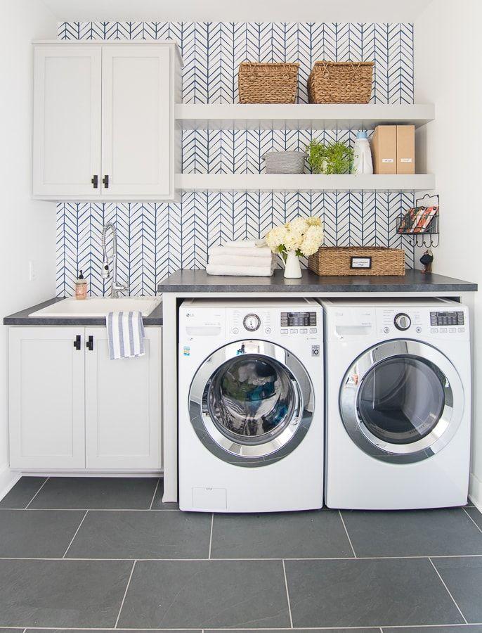 1572427578 615 stylish ways to take full advantage of your laundry shelves - Stylish Ways To Take Full Advantage Of Your Laundry Shelves