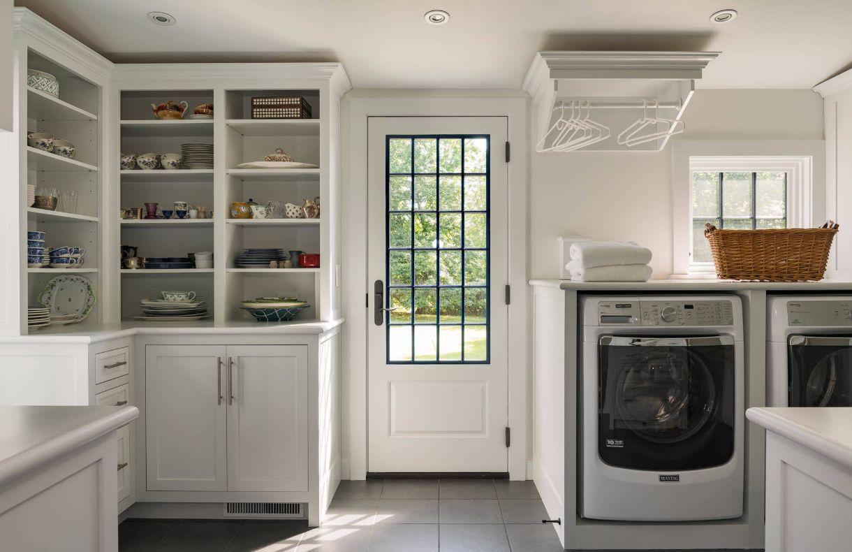 1572427579 228 stylish ways to take full advantage of your laundry shelves - Stylish Ways To Take Full Advantage Of Your Laundry Shelves