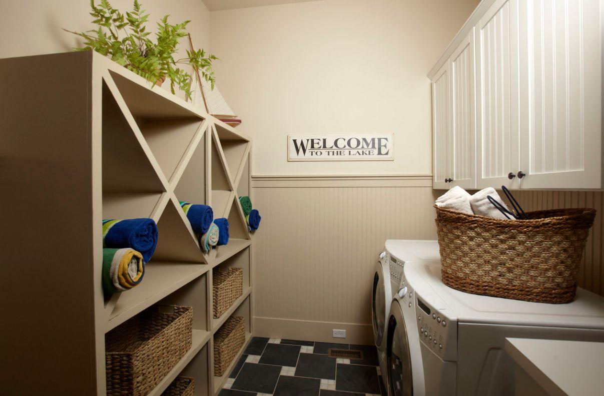 1572427579 328 stylish ways to take full advantage of your laundry shelves - Stylish Ways To Take Full Advantage Of Your Laundry Shelves