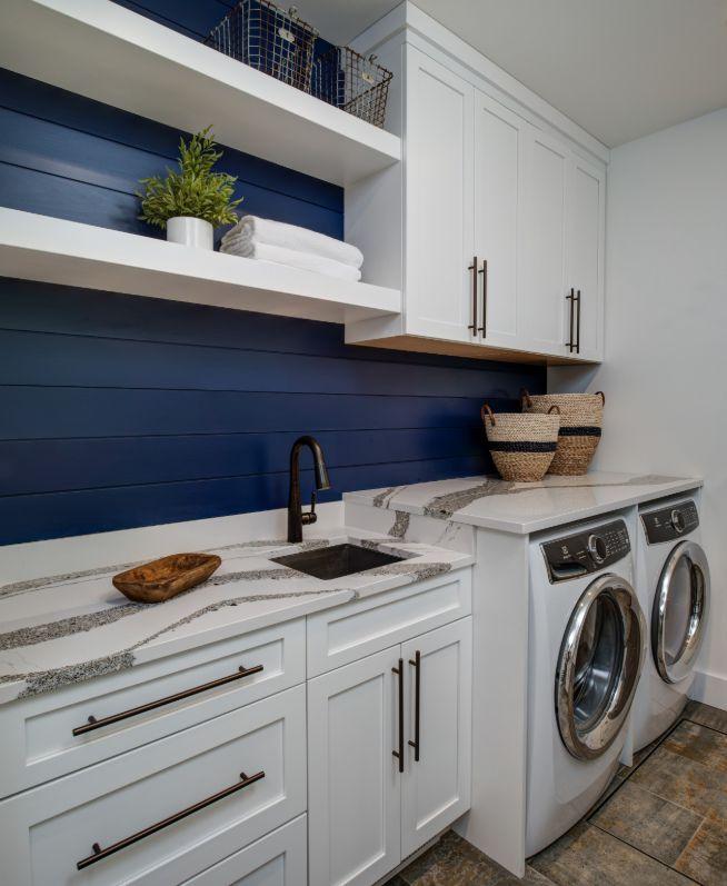 1572427579 697 stylish ways to take full advantage of your laundry shelves - Stylish Ways To Take Full Advantage Of Your Laundry Shelves