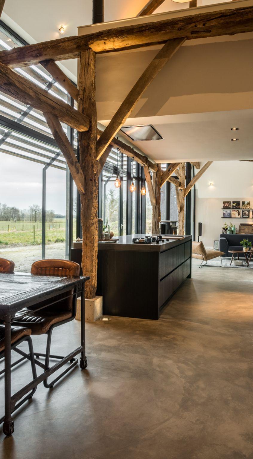 1572516857 117 old barn converted into a modern farmhouse with an authentic design - Old Barn Converted Into A Modern Farmhouse With An Authentic Design