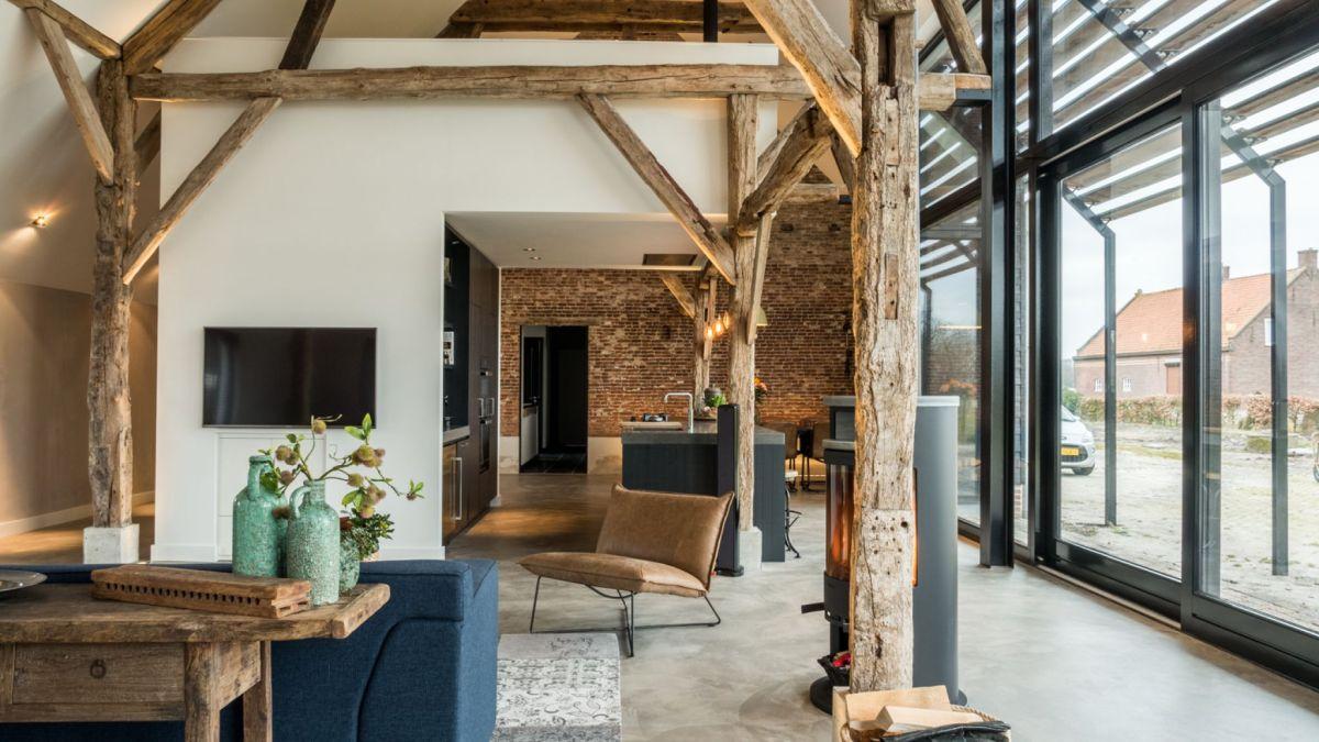 1572516857 700 old barn converted into a modern farmhouse with an authentic design - Old Barn Converted Into A Modern Farmhouse With An Authentic Design