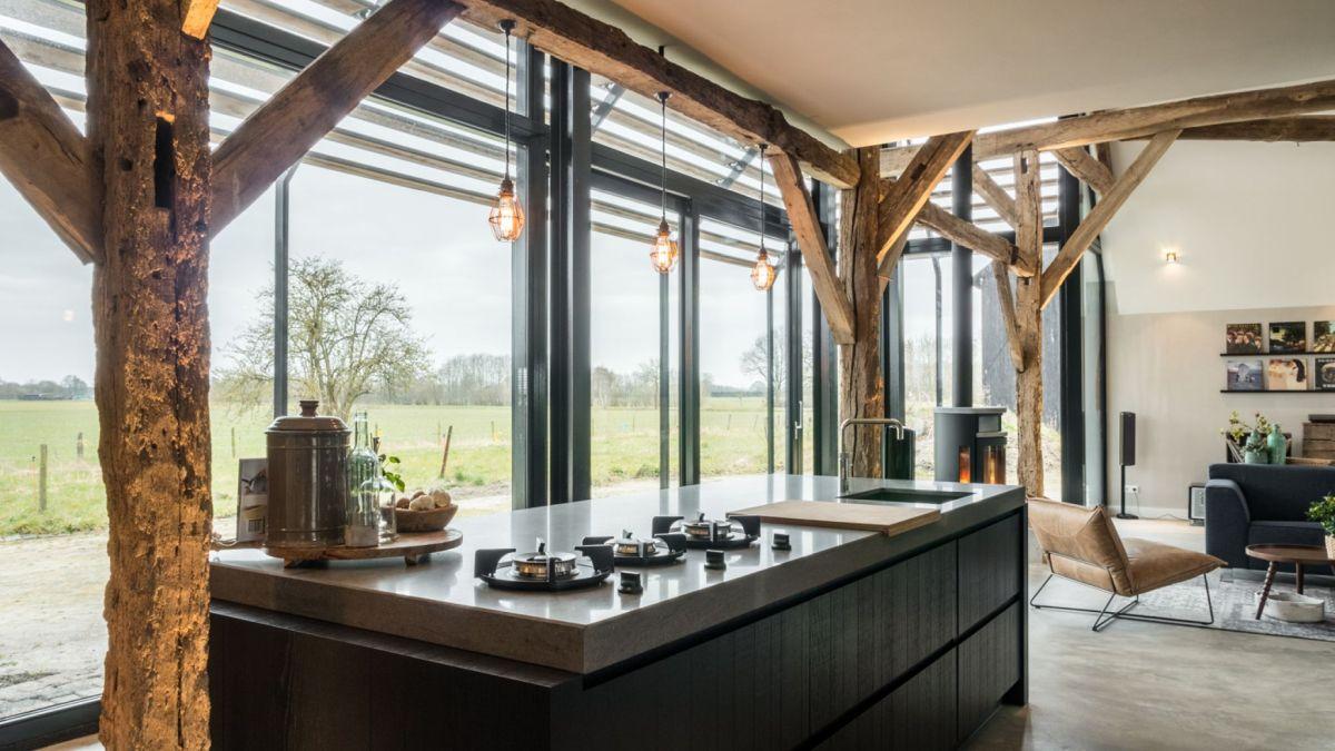 1572516857 835 old barn converted into a modern farmhouse with an authentic design - Old Barn Converted Into A Modern Farmhouse With An Authentic Design
