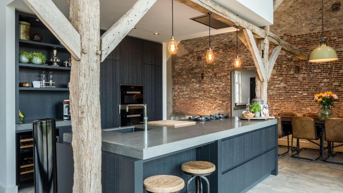1572516858 277 old barn converted into a modern farmhouse with an authentic design - Old Barn Converted Into A Modern Farmhouse With An Authentic Design