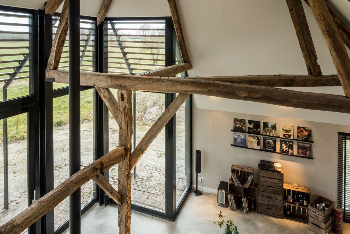 1572516859 604 old barn converted into a modern farmhouse with an authentic design - Old Barn Converted Into A Modern Farmhouse With An Authentic Design
