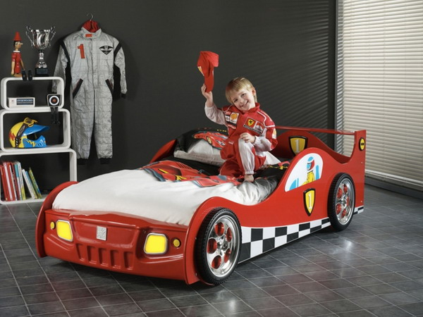 25 racing car beds for children rooms - 25 Racing Car Beds For Children Rooms
