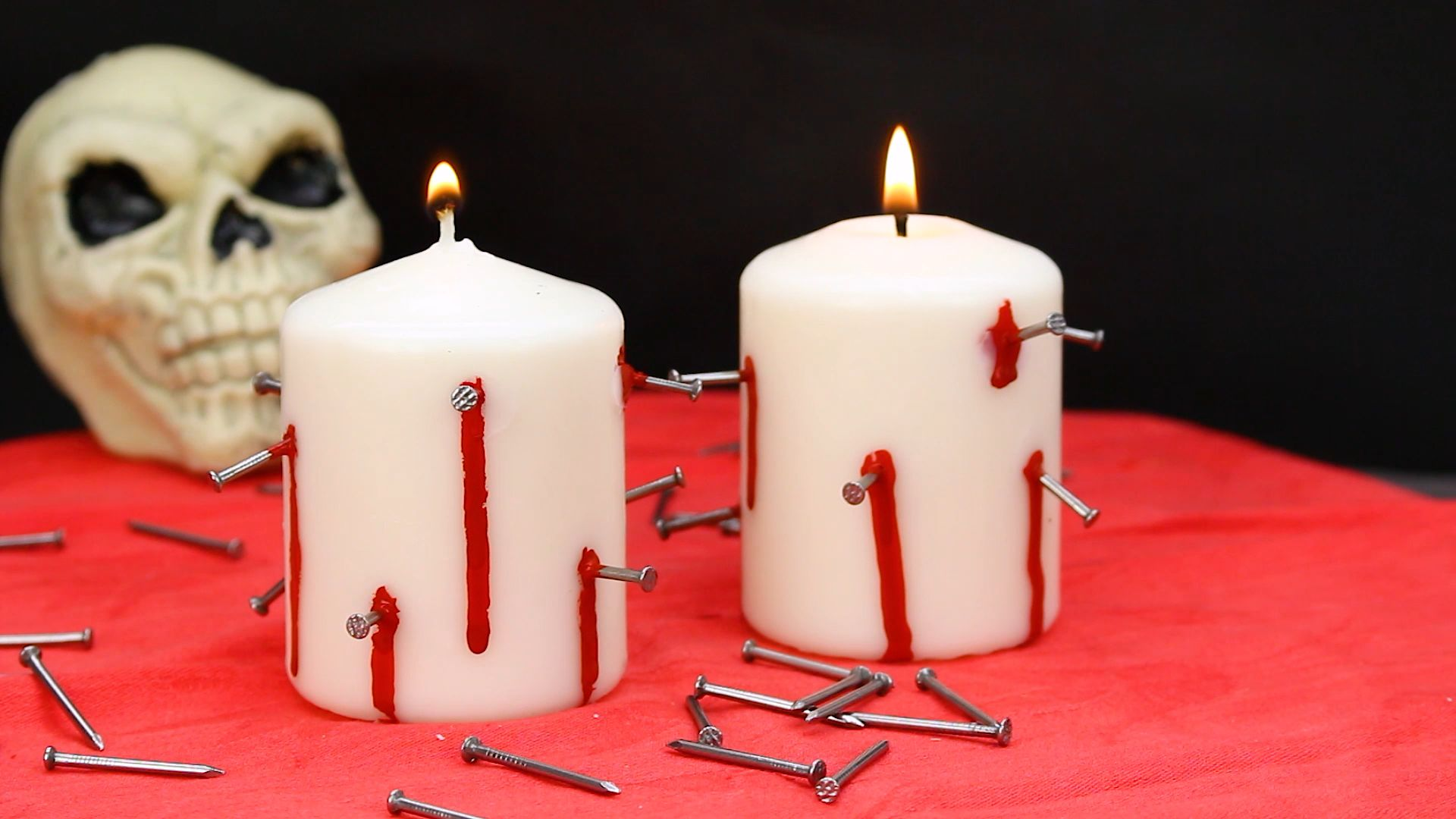diy halloween candle projects with spooky designs - DIY Halloween Candle Projects With Spooky Designs