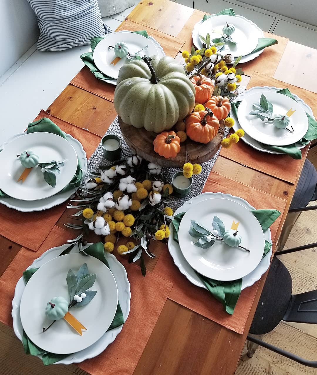 funky fresh fall tablescapes from instagram - Funky Fresh Fall Tablescapes From Instagram