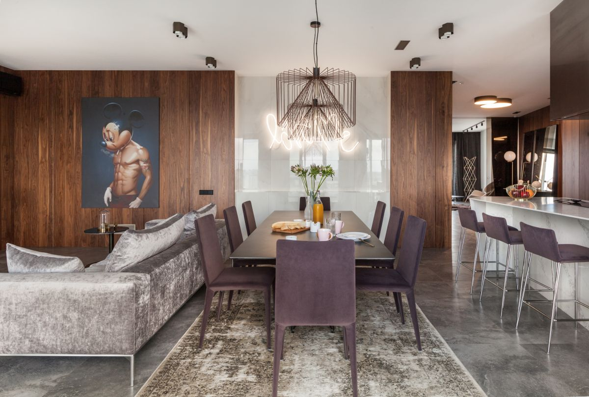 posh apartment in minsk gets a complete remodel - Posh Apartment in Minsk Gets A Complete Remodel