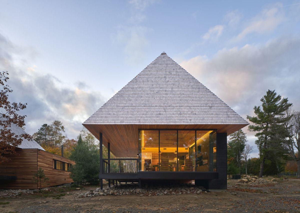 three charming island cabins revitalize their beautiful surroundings - Three Charming Island Cabins Revitalize Their Beautiful Surroundings