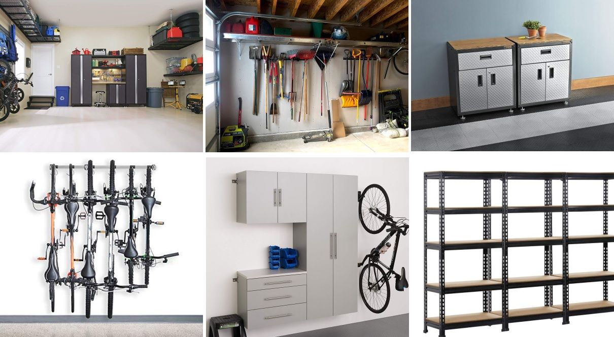 15 best garage storage systems for all your needs - 15 Best Garage Storage Systems For All Your Needs