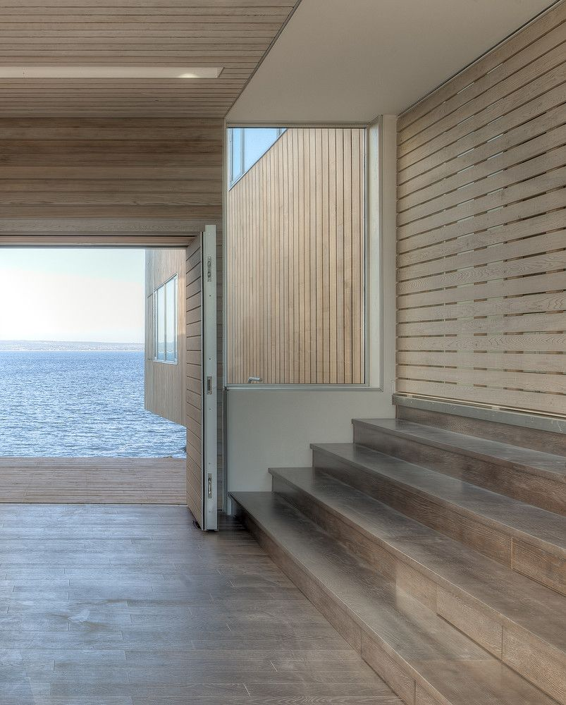 1572596878 309 a house with two cantilevered pavilions lets the sea pass under it - A House With Two Cantilevered Pavilions Lets The Sea Pass Under It