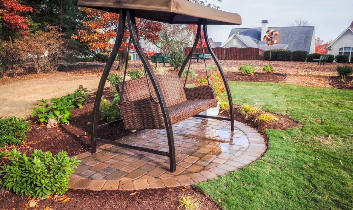 1572943325 309 the best swing chairs for patios gardens and backyards - The Best Swing Chairs for Patios, Gardens and Backyards