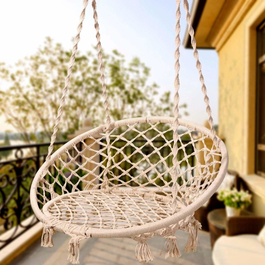 1572943326 334 the best swing chairs for patios gardens and backyards - The Best Swing Chairs for Patios, Gardens and Backyards