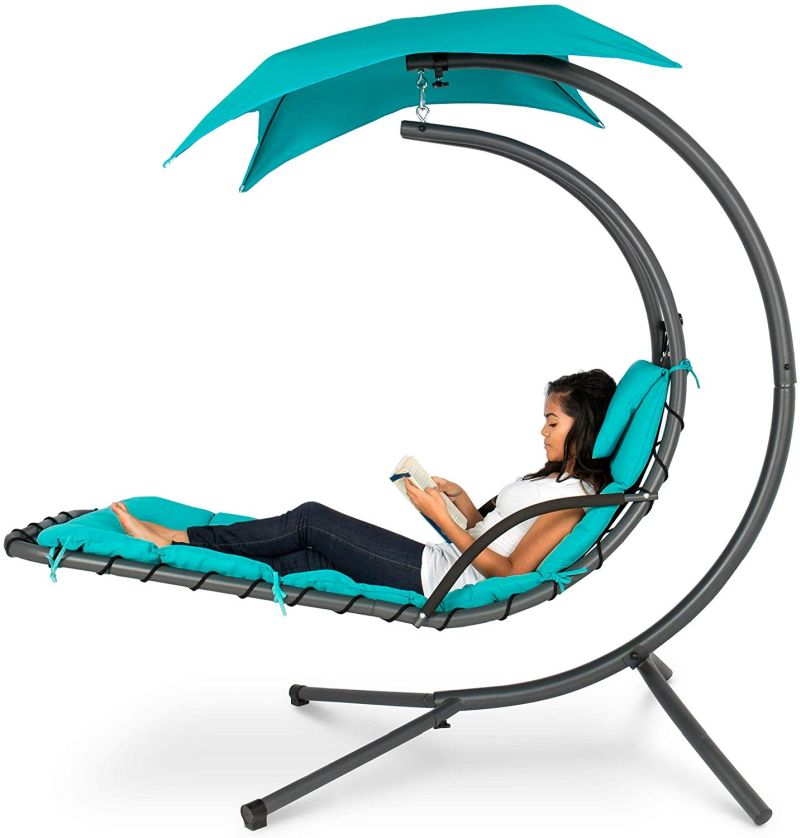 1572943326 98 the best swing chairs for patios gardens and backyards - The Best Swing Chairs for Patios, Gardens and Backyards