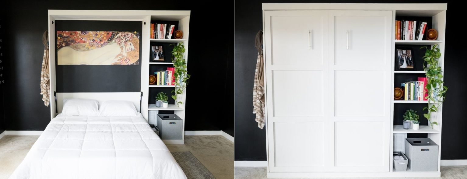 1572957601 433 how to reinvent a spare room with a diy murphy bed - How To Reinvent A Spare Room With A DIY Murphy Bed