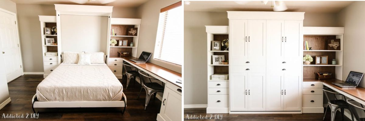 1572957601 904 how to reinvent a spare room with a diy murphy bed - How To Reinvent A Spare Room With A DIY Murphy Bed