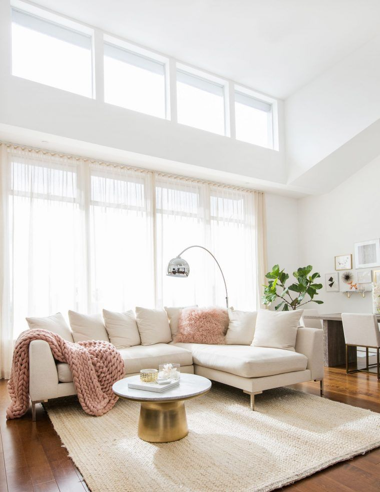 When it comes to furniture, off-white often seems like a friendlier choice compared by pure white