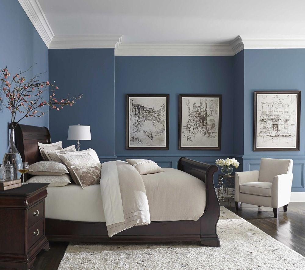 1572969145 988 20 beautiful blue rooms ideas to decorate with blue - 20 Beautiful Blue Rooms – Ideas To Decorate With Blue