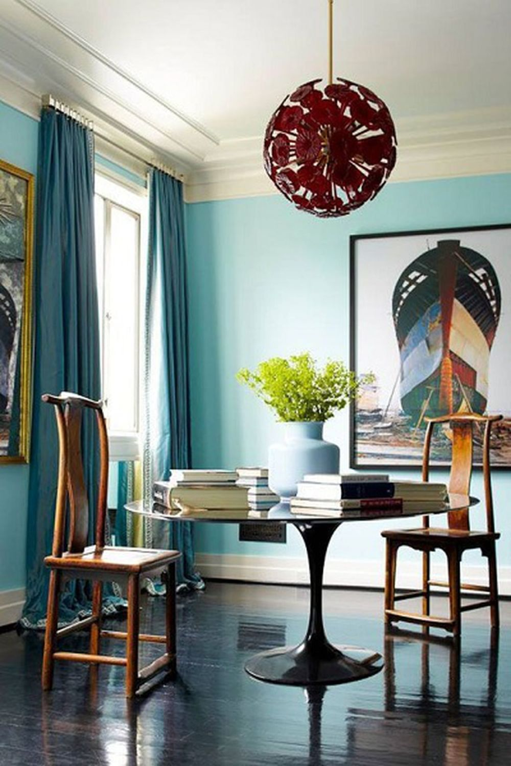 1572969146 657 20 beautiful blue rooms ideas to decorate with blue - 20 Beautiful Blue Rooms – Ideas To Decorate With Blue