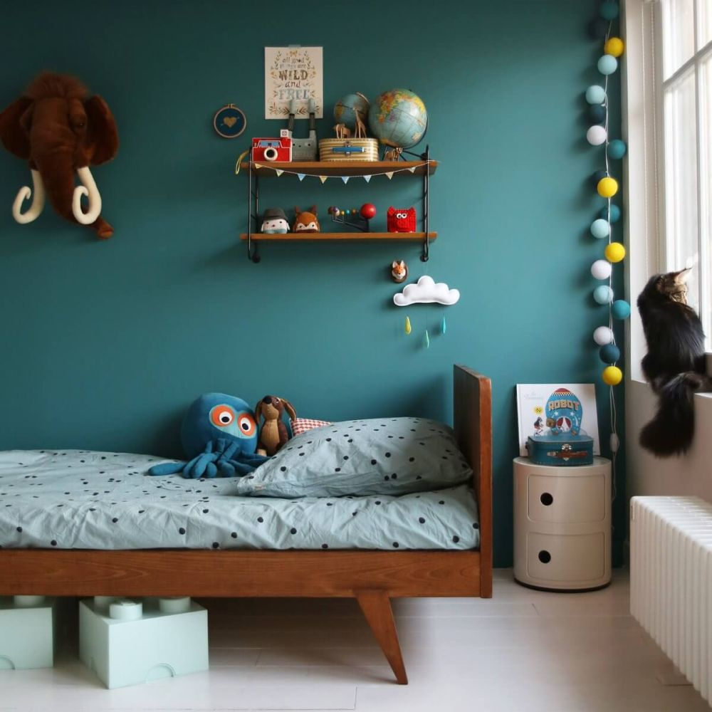 1572969148 429 20 beautiful blue rooms ideas to decorate with blue - 20 Beautiful Blue Rooms – Ideas To Decorate With Blue