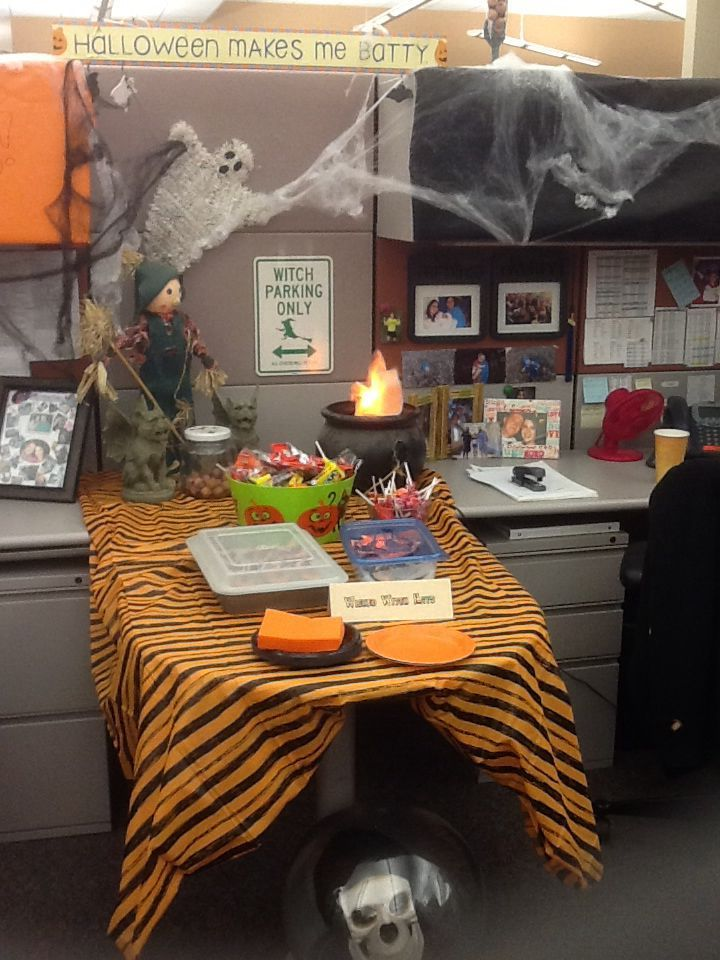 1572969950 840 fun and spooky halloween office decor ideas - Fun And Spooky Halloween Office Decor Ideas
