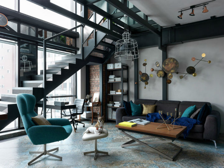 Tribeca inspired loft 1 - Beautiful Tribeca Inspired Loft In Moscow