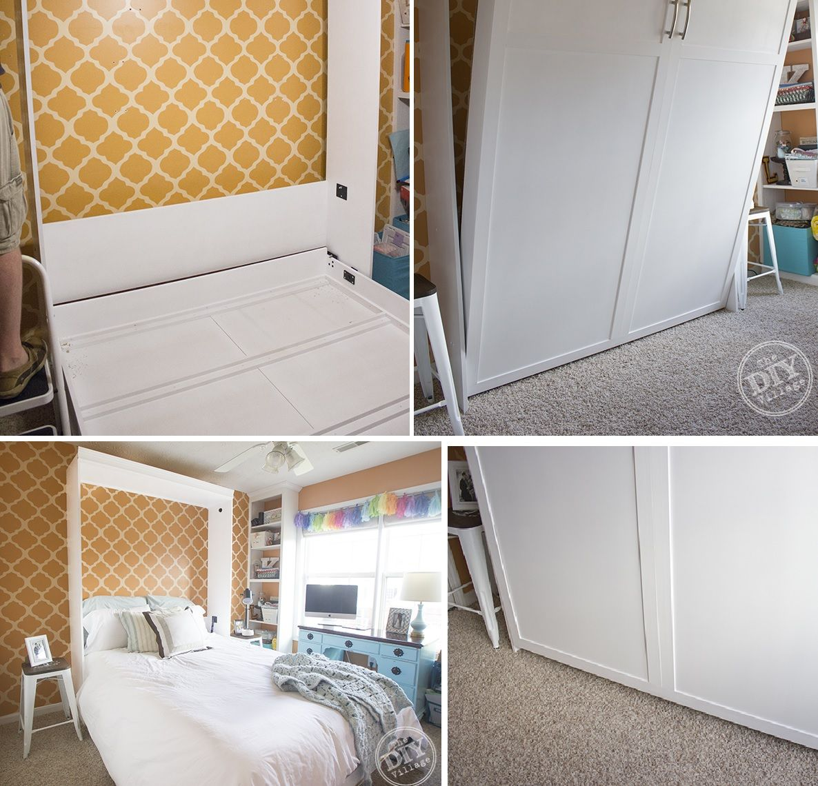 how to reinvent a spare room with a diy murphy bed - How To Reinvent A Spare Room With A DIY Murphy Bed