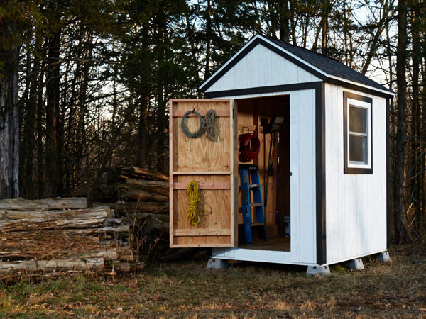 Building a shed on the backyard - How To Build A Garden Shed From Scratch – Simple Plans With Lots Of Charm